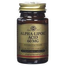 Альфа-липоевая кислота Solgar капсулы 60 мг №30