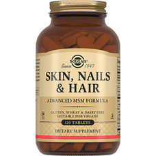 Мультикомплекс витаминов Skin, Nails, Hair Solgar для кожи, ногтей и волос таблетки №120 - Фото
