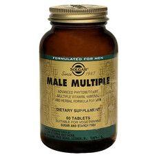 Витамины для мужчин Male Multiple Solgar таблетки №60 - Фото