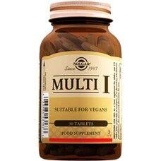 Мульти-1 Solgar таблетки №30 - Фото