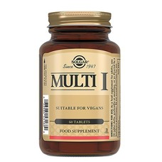 Мульти-1 Solgar таблетки №60 - Фото