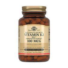 Витамин К2 100 мкг Solgar капсулы №50 - Фото