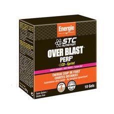 Енергетичний гель STC OVERBLAST PERF 'CD-SPRINT FRUITS ROUGES 10 тюбиків - Фото