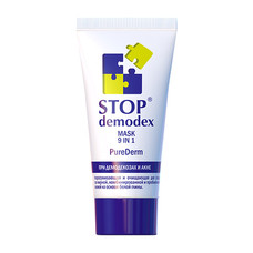 Маска Pure Derm 9 в 1 Стоп Демодекс/Stop Demodex 50 мл - Фото