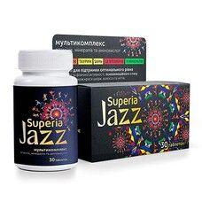 Суперия Джаз мультикомплекс витаминов, минералов и аминокислот в таблетках №30