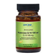 Коензим Q10 100 мг капсулы №30 ТМ Сапхерб / SupHerb