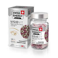 Swiss Energy Витамины Visiovit капсулы №30