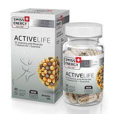 Витамины ActiveLife Swiss Energy капсулы №30