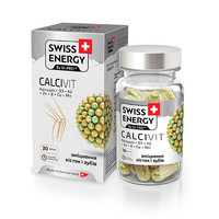 Витамины Swiss Energy Calcivit в капсулах №30