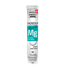 Витамины шипучие Swiss Energy Magnesium №20