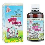 Дитячий екстракт меліси для приготування ванн Kiti Boom 200 мл  - Фото