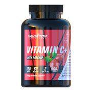 Вітамін С з шипшиною 120 таблеток ТМ Вансітон / Vansiton - Фото
