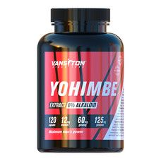 Йохимбе капсулы №120 ТМ Ванситон / Vansiton  - Фото
