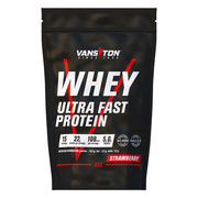 Протеїн Ультра-Про 450г Полуниця ТМ Вансітон / Vansiton - Фото