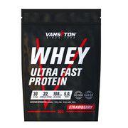 Протеин Ультра-Про 900г Клубника ТМ Ванситон / Vansiton - Фото