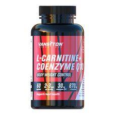 L- Карнітин + Коензим Q-10 60 капсул ТМ Вансітон / Vansiton - Фото