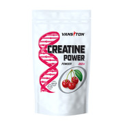 Креатину моногідрат Creatine Power 250 г Вишня ТМ Вансітон / Vansiton - Фото