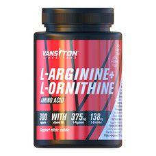 L-Аргінін + L-Орнітин капсули №300 ТМ Вансітон / Vansiton - Фото