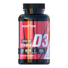 Витамин Д3 2500 МЕ 120 желатиновых капсул ТМ Ванситон / Vansiton - Фото