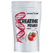 Креатину моногідрат Creatine Power 250 г Полуниця ТМ Вансітон / Vansiton - Фото