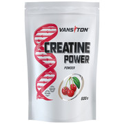 Креатину моногідрат Creatine Power 500 г Вишня ТМ Вансітон / Vansiton - Фото