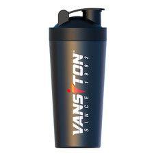 Шейкер чорний металевий 750 мл ТМ Вансітон / Vansiton