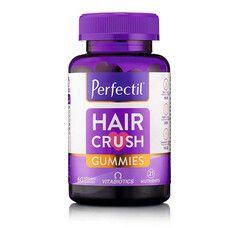 Перфектіл (Perfectil Hair Crush Gummies) комплекс вітамінів для пошкодженого волосся №60 - Фото