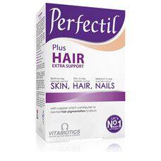 Витамины для здоровых волос и кожи Перфектил Плюс Экстра-поддержка таблетки №60