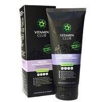 Маска для поврежденных волос с природным кератином и комплексом витаминов 200 мл ТМ VitaminClub