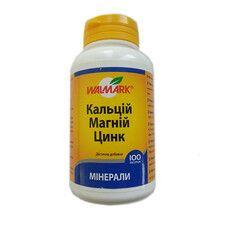 Кальций магний цинк таблетки №100