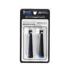 Змінна насадка на електричну зубну щітку WhiteWash Laboratories Чорна - Фото