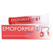 Зубна паста захист від карієсу Emoform-F Protect 85 мл - Фото