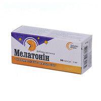 Мелатонин желатиновые капсулы 3 мг №30 - Фото