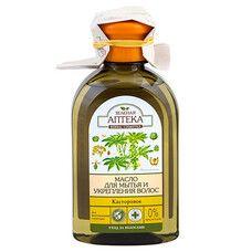 Зеленая Аптека масло для мытья волос Касторовое 250 мл