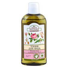Зеленая Аптека тоник для зрелой кожи Розовая вода и миндальное масло 200 мл