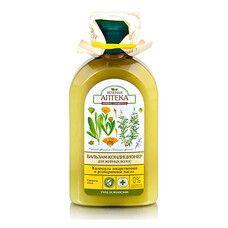 Зеленая Аптека бальзам-кондиционер для жирных волос Календула и Розмариновое масло 300 мл
