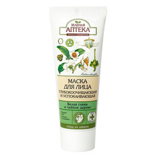 Зеленая Аптека маска для лица Очищающая и успокаивающая 75 мл