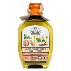 Зеленая Аптека масло для ванн Мандарин 250 мл