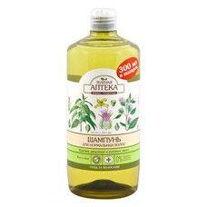 Зеленая Аптека шампунь для нормальных волос Крапива и репейное масло 1000 мл