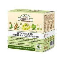 Зеленая Аптека Омолаживающая лифтинг серия крем для лица Лифтинг и матирование 50 мл