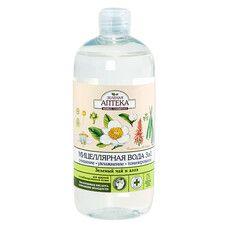 Зеленая Аптека мицеллярная вода 3 в 1 Зеленый чай и алоэ 500 мл