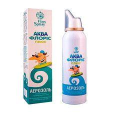 Спрей Аквафлорис плюс для гигиены носа и носоглотки 125 мл