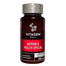 Вітаджен N34 Жіноче здоров'я / VITAGEN Woman's Health Special капсули №60  - Фото