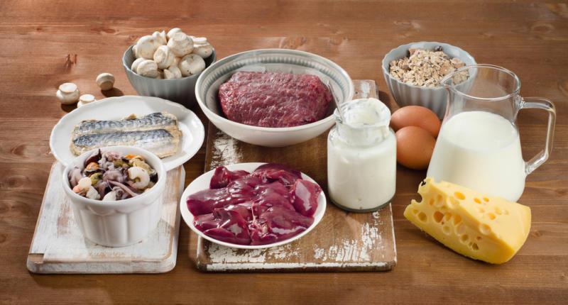 витамин в12 в продуктах