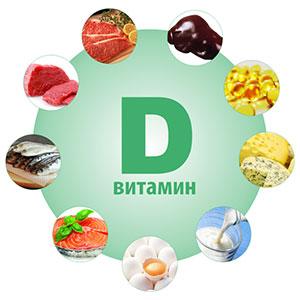 где есть витамин Д