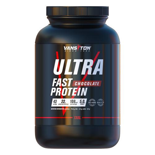 Протеин Ультра-Про 1300г Шоколад ТМ Ванситон / Vansiton